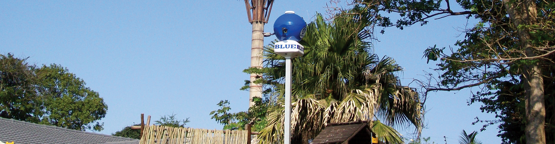 Blue Security Eye In The Sky Cameras