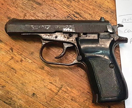Firearm recovered following Springfield Park shootout