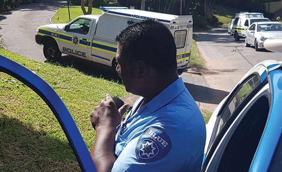 Balaclava-clad gang hits three Westville homes in 45 minutes