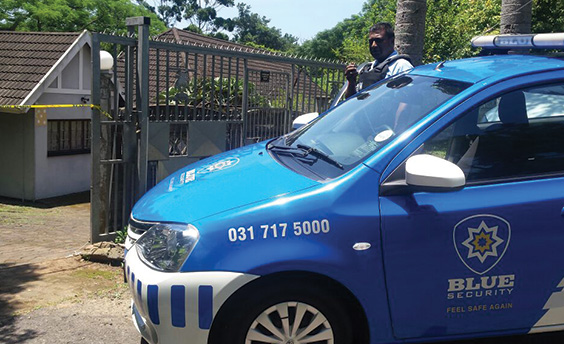 Westville resident held hostage as armed robbers ransack home