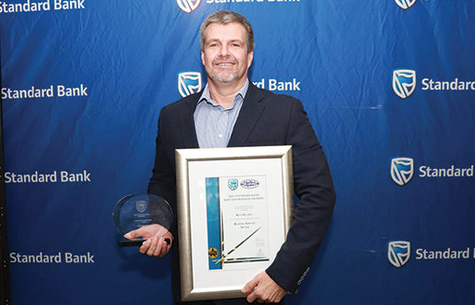 Blue Security wins top business award