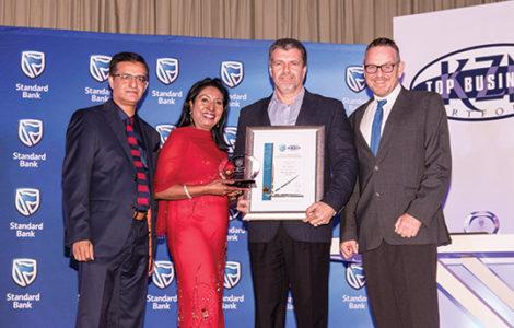 Blue Security wins top KZN business award