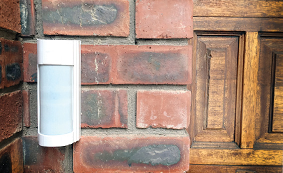 Outdoor beam perimeter protection