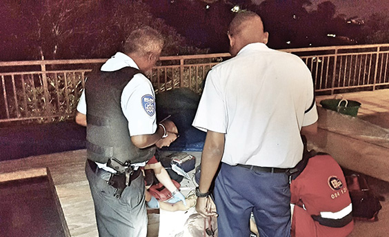 Reaction Officer Shoots And Kills Armed Winston Park