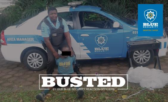 Response officer arrests Durban North housebreaker following neighbour's alert