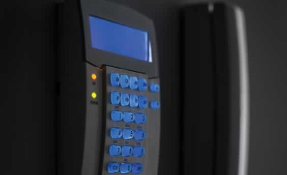 Load shedding safety alarm keypad