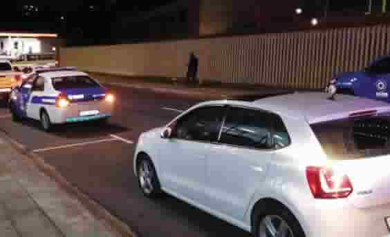 Hijacked vehicle detected by Amanzimtoti ANPR camera