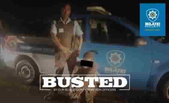 Quick response by Blue Security officers leads to two arrests