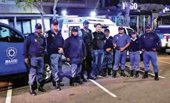 Durban North informal settlement uncovered by Blue Security and police