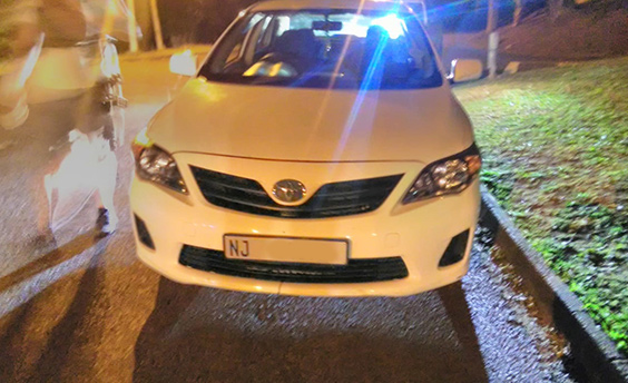 Response officer recovers private taxi hijacked in Glenwood