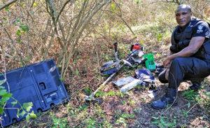 Stolen valuables recovered in Crestholme housebreaker manhunt