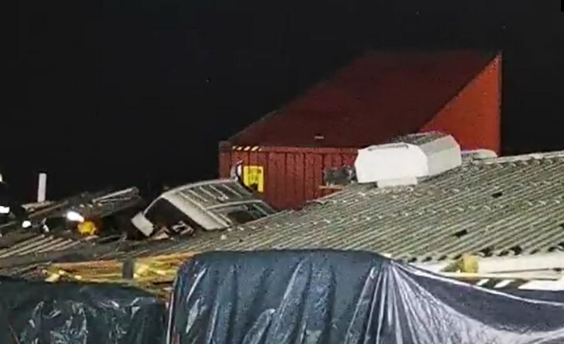 Truck Driver Crashes onto Umbilo Business Roof after Losing Control